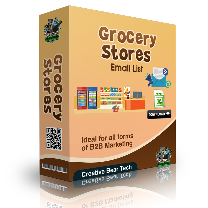 Grocery Stores Email List